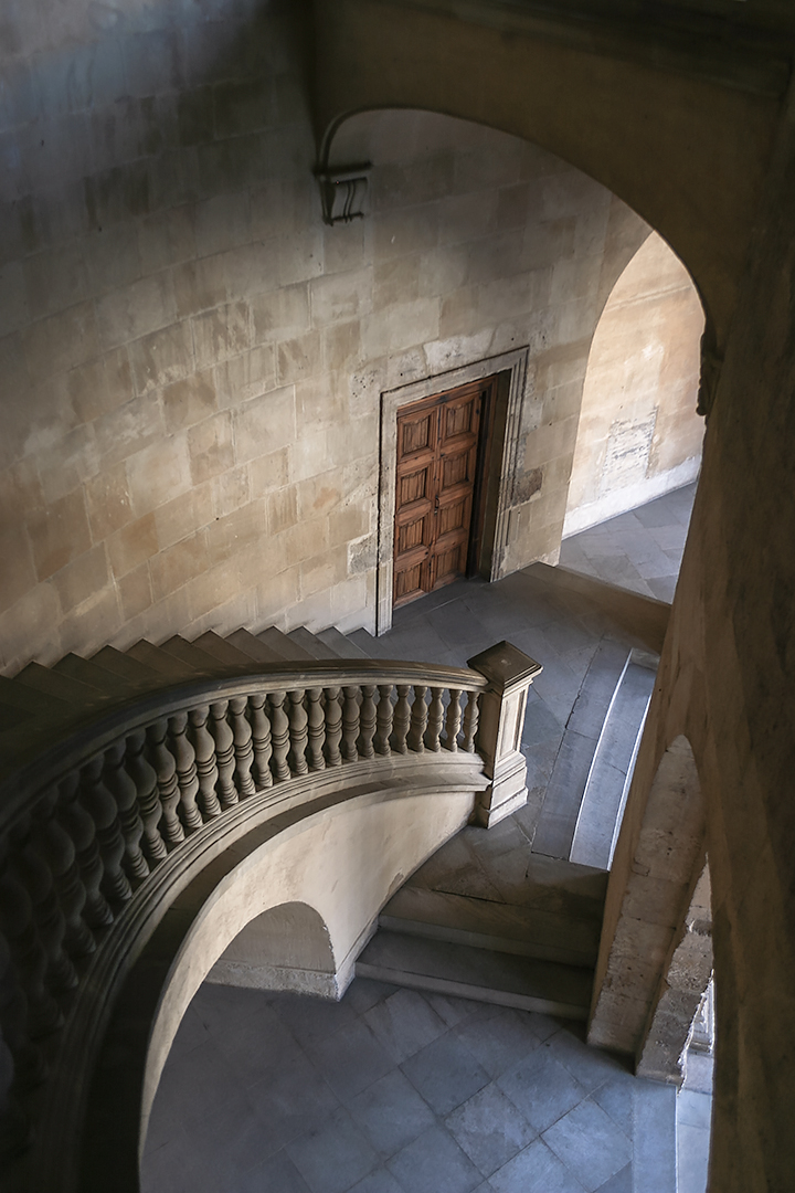 Stairs in Alhambra 2 by jameslawton