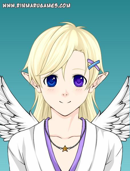 Luce angel form (as a child) by ichigostrawberri