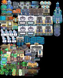 Pokemon Platinum Tiles WIP by Keh-ven