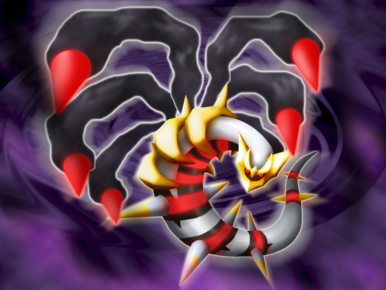 3D Giratina Wallaper by Keh-ven on DeviantArt