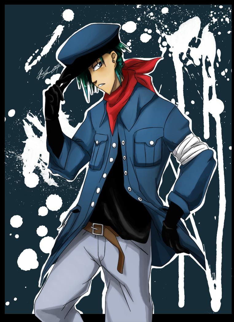 Kaito - O rok později Bleach_OC_in_Uniform_by_klnothincomin