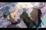 COMMISSION: Drazon vs Tomiko
