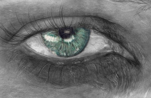 random eye drawing by keh ven on deviantart