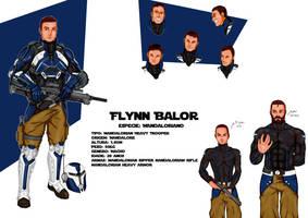 Tales of Jedi RPG character sheet: Flynn