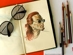 Good Omens Crowly Drawing