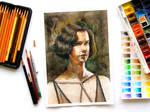 Tina Glodstein Watercolor