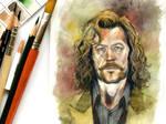 Sirius Black watercolor