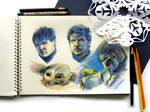 The Mandalorian Season 2 sketches