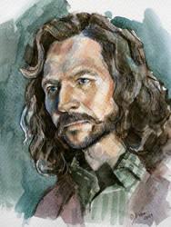 Sirius Black watercolor art