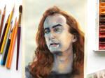 Crowley Good omens art