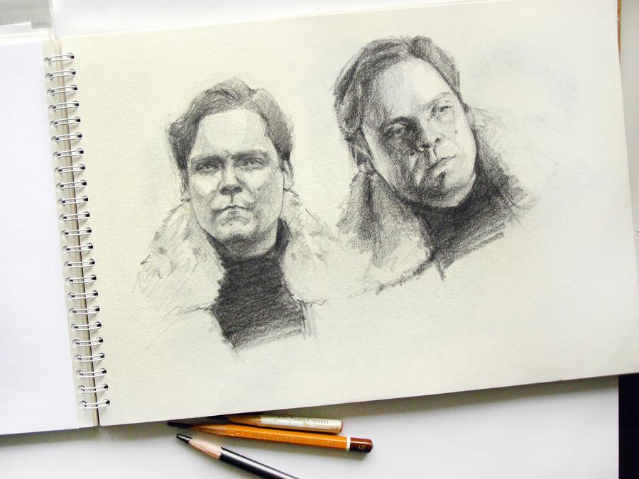 Helmut Zemo drawing