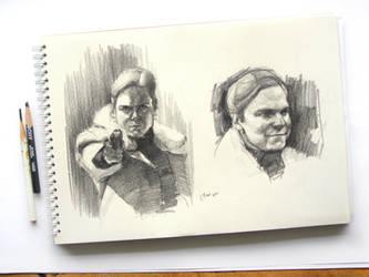Baron Zemo sketches drawings