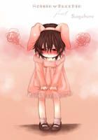 Pink Bunny ft. Sagakure :D by Raisin-Mucchin
