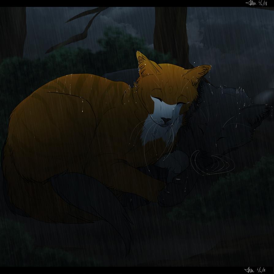 Rainy sleep by IlluminateWaters
