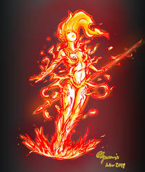 Akenchi on Fire!