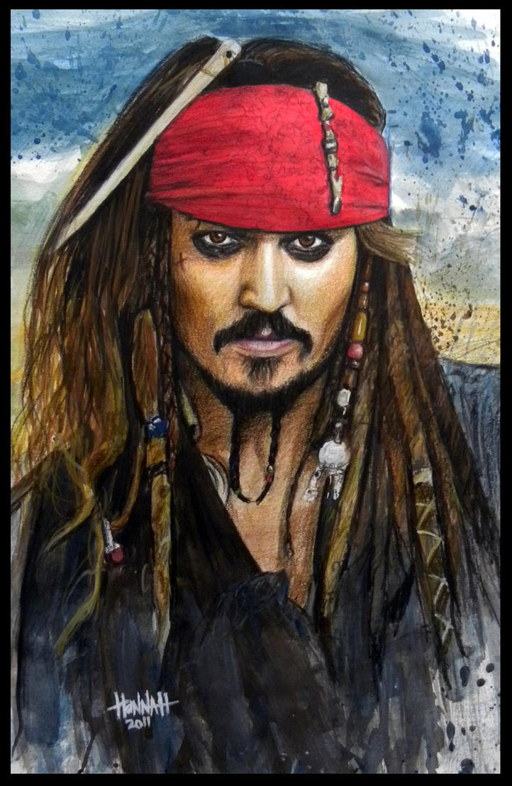 Jack Sparrow by RyohanaML