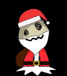Santa Mimikyu by LittleMimikyu
