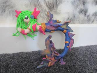 League of Legends River spirit nami by Dragonsculpt