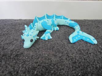 Water dragon by Dragonsculpt