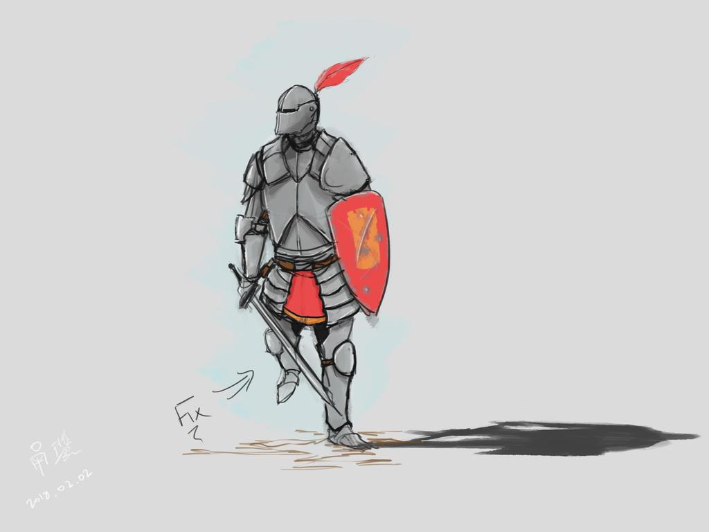 Knight by SirRinge