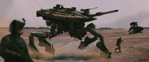 Walking Tank1 by AndrewDoris