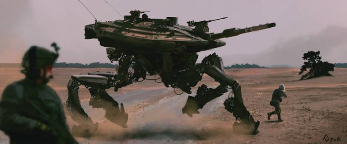Walking Tank1