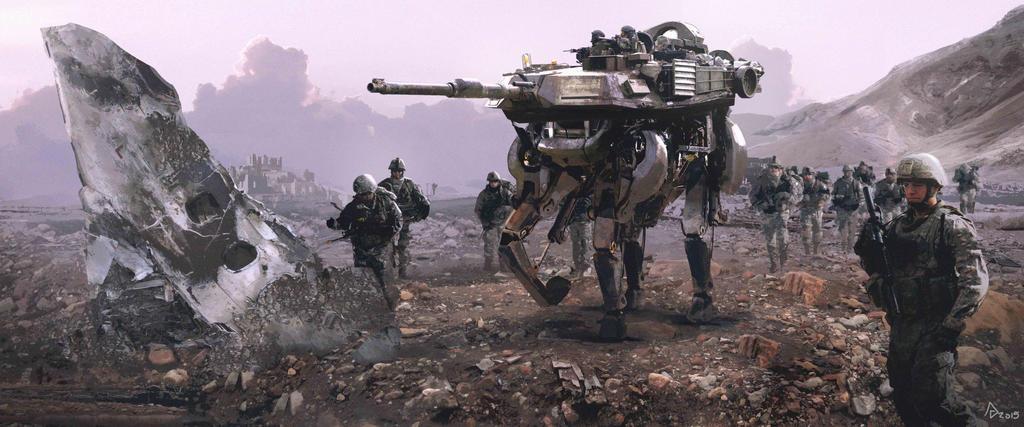 Walking Tank2