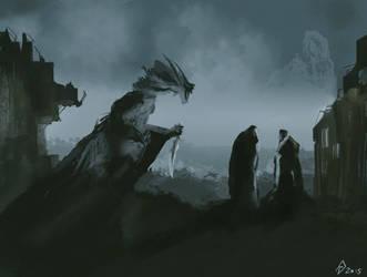 Assassin creature by AndrewDoris