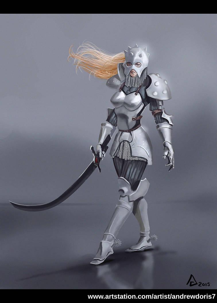 Knight 1 by AndrewDoris