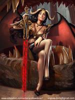 Dragon Queen by AndrewDoris
