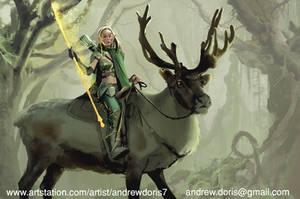 Elf Ranger by AndrewDoris