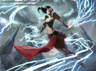 Storm Witch by AndrewDoris