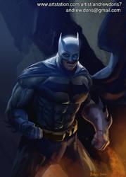 Batman by AndrewDoris