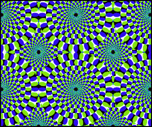 are the circles moving?