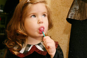 cute little girl by VictorVoznyuk
