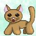 First Pixel Cat by Lelestir