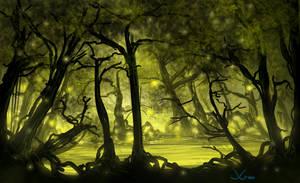 Alien Swamp by JGHart
