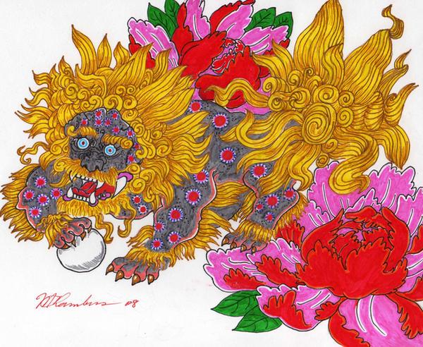 Download Wallpaper 3840x2400 Foo dog, Muzzle, Aggression Ultra HD ...