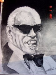 ray charles by guitargold