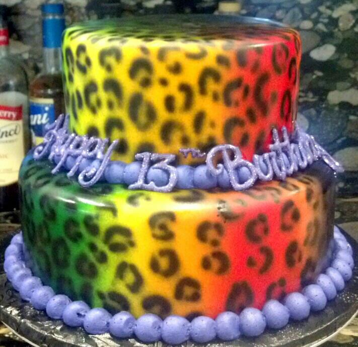 Rasta Leopard Cake by aspy on DeviantArt
