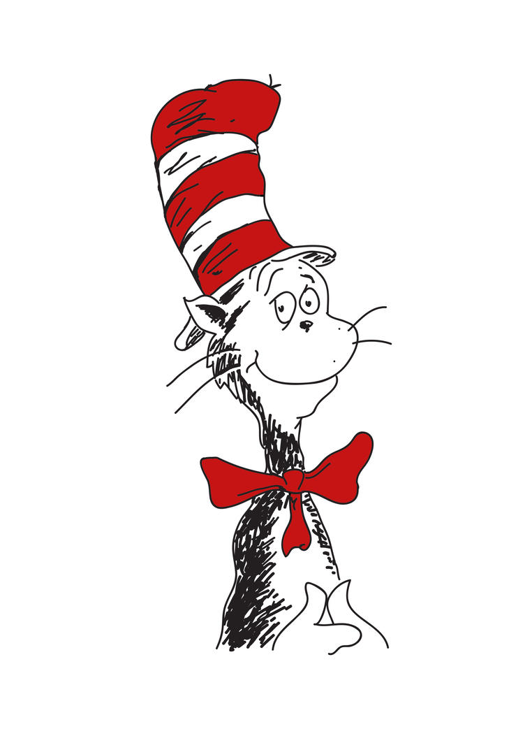 free clipart cat in the hat - photo #49