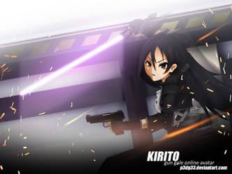 GGO - Kirito by p3dg33