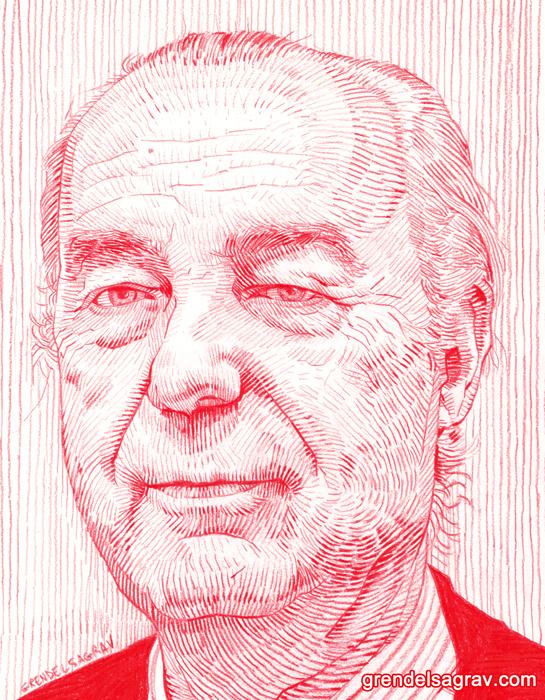 Luis Alberto de Cuenca by GrendelSagrav