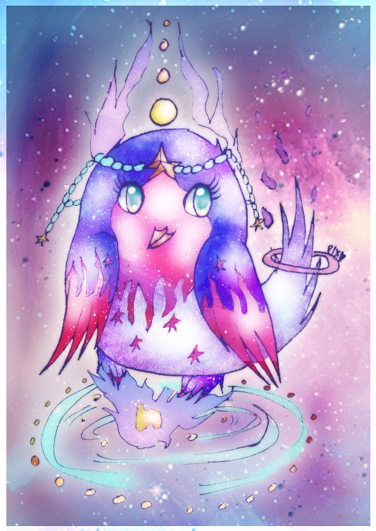 CE: Cosmic Owl by PiichixChan