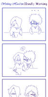 HisaKira- chibi comic