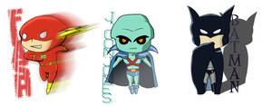 Justice League chibis