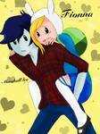 Fionna and Marshall lee gift
