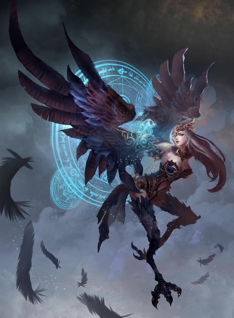 Harpy by kafabest