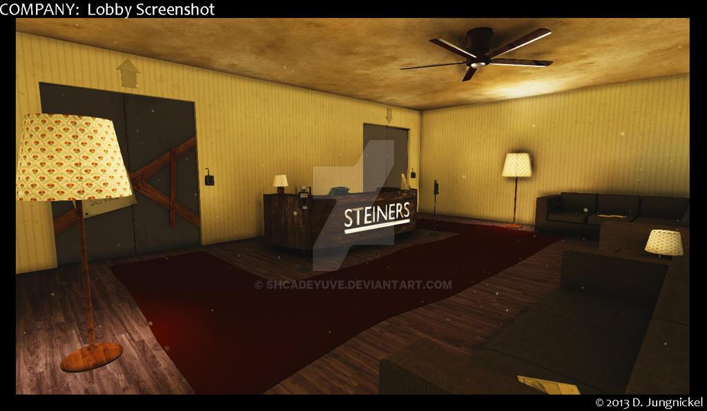 COMPANY: Lobby Screenshot 02 by shcadeYuVE on DeviantArt