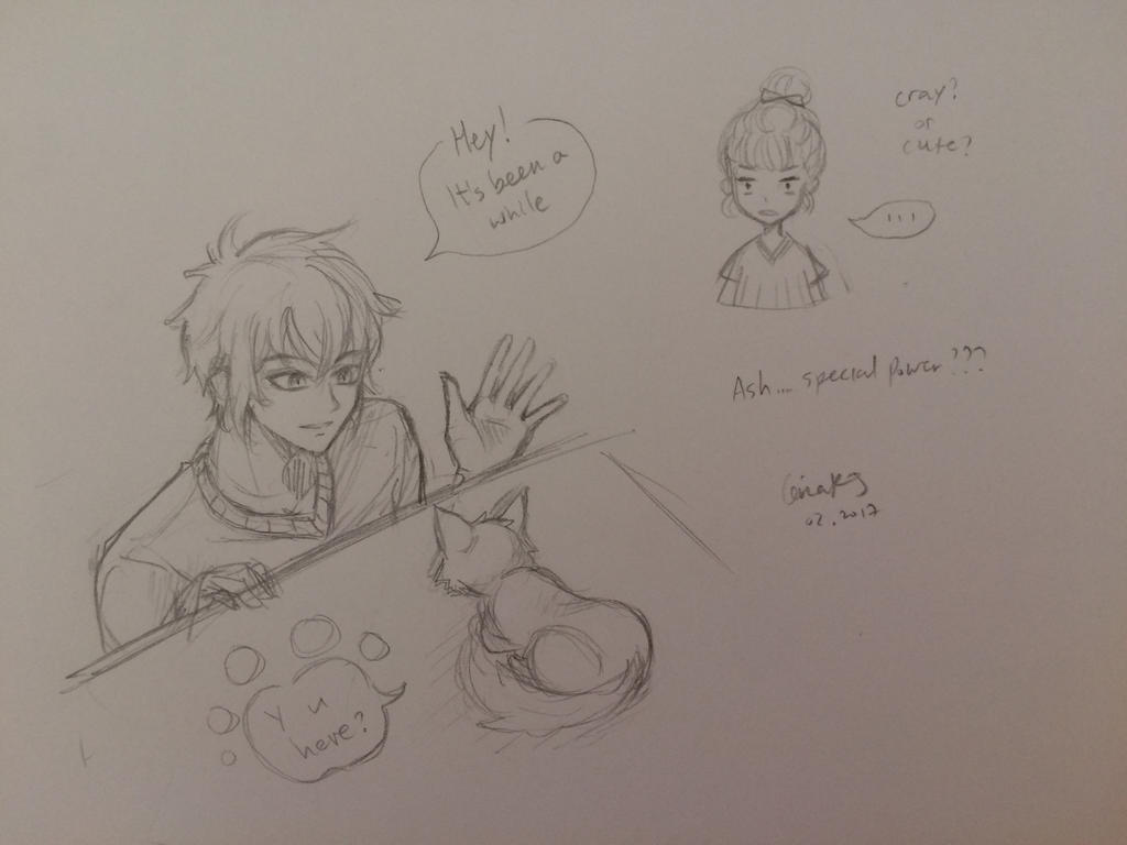 OOC: Ash and his secret ability by CeriaJ